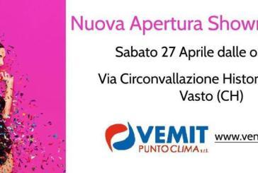 Oggi l'inaugurazione del nuovo showroom della Vemit