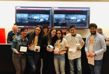Primo Posto alle Finali Nazionali  delle Olimpiadi di Problem Solving di Cesena per i ragazzi della 3 E indirizzo musicale dell'Istituto Rossetti di Vasto