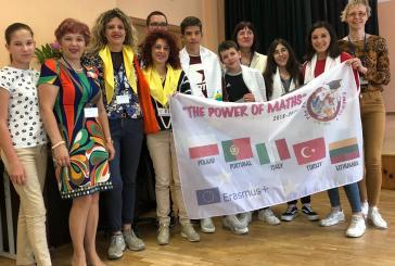 L'Istituto Rossetti impegnato nello scambio Erasmus in Lituania con il progetto Power of Maths