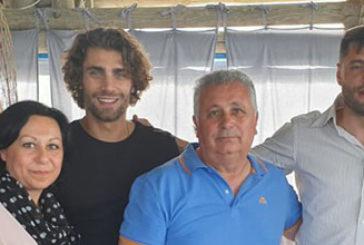 Partita di solidarietà tra Nazionale attori, arbitri e calciatori