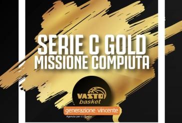 "Vasto Basket: ""Goran Oluic ci porta in paradiso e siamo in C Gold"""