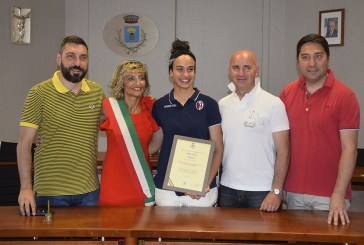 Calcio femminile, premiata la sansalvese Melissa Nozzi