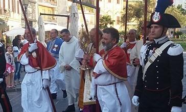 Vasto, oggi c'è la Processione del Corpus Domini