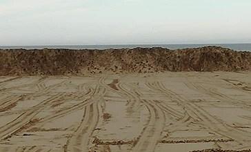 Vasto, il Comune spiana la spiaggia del fratino