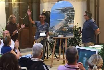 L'artista di Canosa Sannita vince il concorso di pittura
