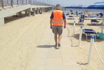 Porta il cane in spiaggia, multata una signora