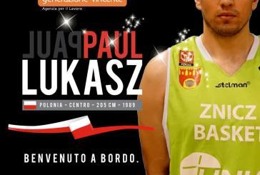 Vasto Basket alza il muro, dalla Polonia arriva il gigante Paul Lukasz