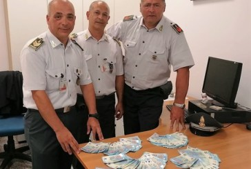 Sequestrate banconote false per 4mila euro