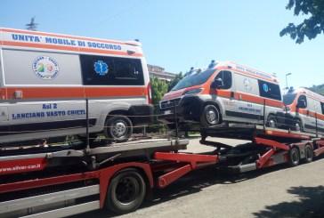 Nuove ambulanze per il 118 della provincia di Chieti