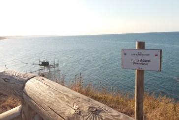 Allaccio alla rete fognaria dei punti info della Riserva di Punta Aderci, a breve rifacimento delle scalette