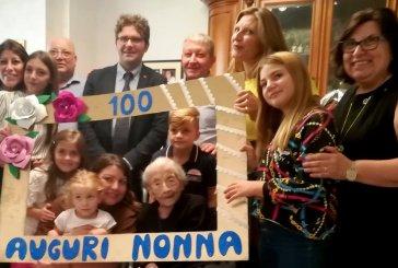 Tanti auguri a Angiolina Murazzo per il suoi primi 100 anni