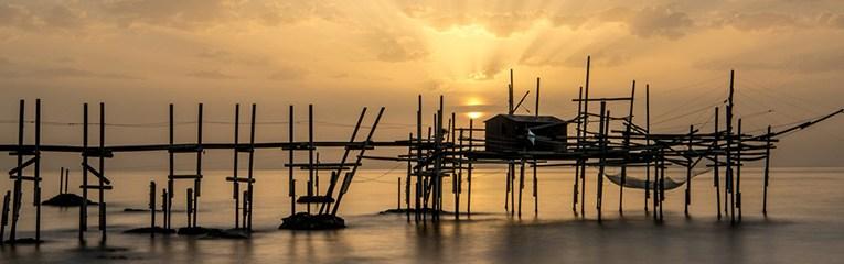 Il trabocco di Punta Vignola su National Geographic