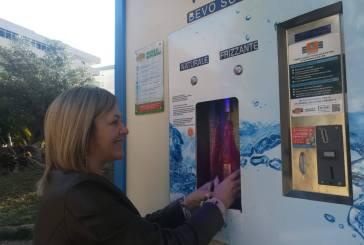 Vasto, in funzione i distributori dell'acqua in via De Gasperi e al Villaggio Siv