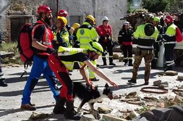 La Protezione Civile Arcobaleno di San Salvo ad Amatrice, due giorni di intensa formazione