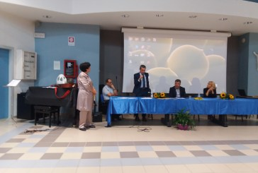 La cerimonia di premiazione del concorso pedagogico-letterario al Pantini Pudente