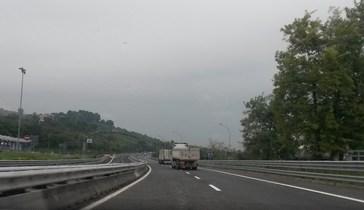 A14, chiuso il tratto Roseto Atri Pineto