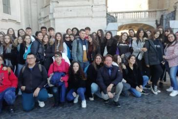 Gli studenti del Palizzi da Papa Francesco