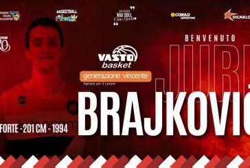 Jure Brajkovic è un nuovo giocatore della Vasto Basket