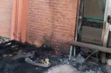 Incendio agli uffici della Pulchra al PalaBBC, M5S Vasto:
