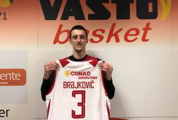 Basket, Jure Brajkovic si presenta al PalaBcc