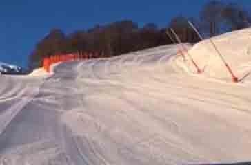 Roccaraso, ecco la nuova pista da sci: la