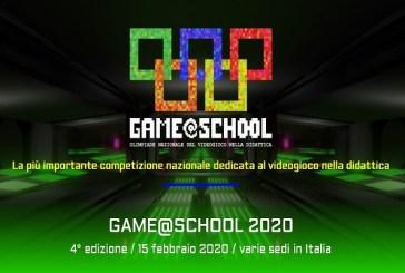 La quarta edizione nazionale delGame@School2020 fa tappa a Vasto