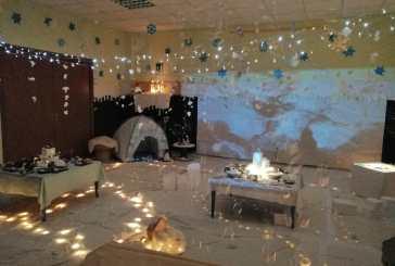 All'Asilo Tana dei Cuccioli la magia della stanza d'inverno