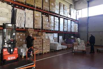 La carità non va in quarantena, il Banco Alimentare è operativo in sicurezza per 30mila bisognosi dell'Abruzzo