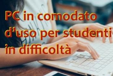Il Miur stanzia fondi per fornire in comodato d'uso dispositivi digitali agli studentiche non hanno un computer a casa