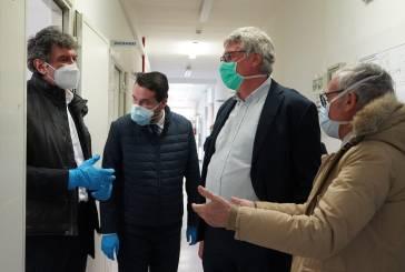 Marsilio in visita al Covid Hospital di Atessa,