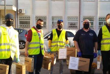 Continuano le attività dei volontari della Protezione Civile Arcobaleno di San Salvo