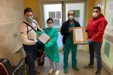 Dall'Associazione Honda Club Abruzzo mascherine per il reparto di Dialisi e Urologia dell'ospedale di Vasto
