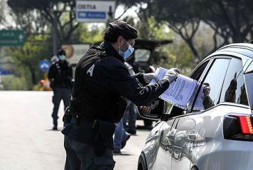 Controlli Covid-19: 63 le attività chiuse, 117 le persone le persone denunciate per falsa attestazione e per violazione dell'obbligo di quarantena