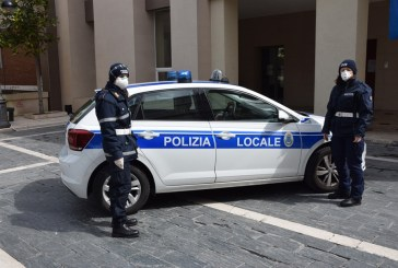 Covid 19, scattano i controlli della Polizia Locale di San Salvo
