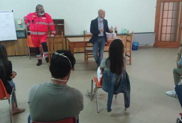 L'Opi di Chieti dona mascherine alla Fondazione Padre Alberto Mileno