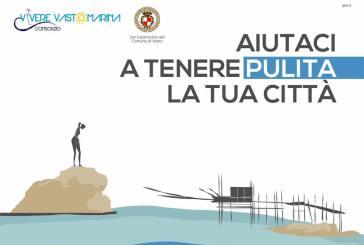 Vasto Marina, campagna di sensibilizzazione per tenere pulite piazze e parchi
