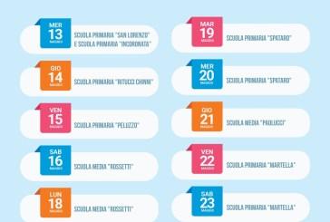 Vasto, ecco il calendario per il recupero dei testi scolastici