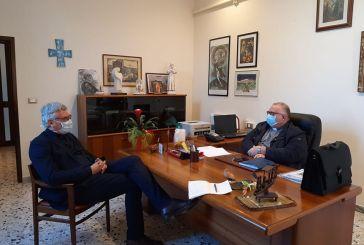 Schael in visita a Lanciano dall'arcivescono Cipollone