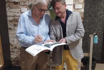 Tre disegni del medico Antonino Colaneri selezionati dal critico e storico d'arte Vittorio Sgarbi alla mostra