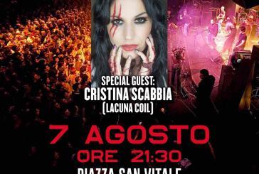 """San Salvo, stasera il concerto gratuito """"Rezophonic e Cristina Scabbia"""" accompagnati da 14 artisti di caratura internazionale"""