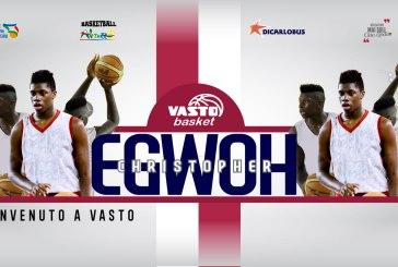 Christopher Egwoh Chukwuebuka è il nuovo acquisto della Vasto Basket