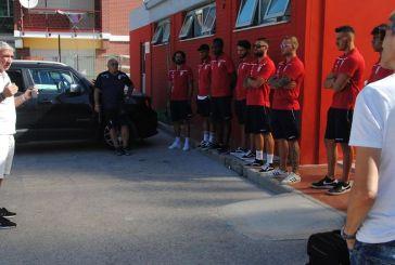 Calcio, la Vastese in ritiro a Rivisondoli. Giocatori e staff sottoposti ai test sierologici per il Covid 19