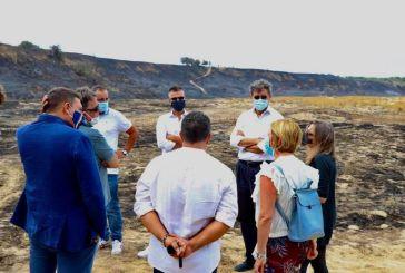 Incendio a Punta Aderci, Prospero: