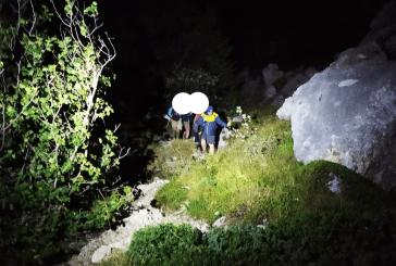 Sette scout romani bloccati sul Velino, recuperati nella notte dal Soccorso Alpino