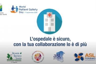L'Abruzzo aderisce alla Giornata Mondiale per la Sicurezza delle Cure