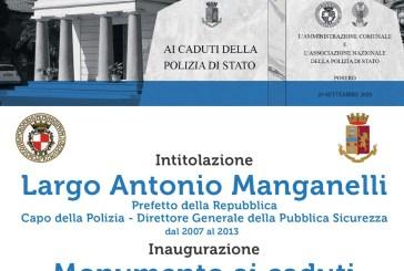 Oggi Vasto onora la Polizia di Stato nel ricordo di Antonio Manganelli