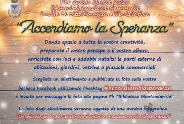 """""""Accendiamo la Speranza"""", l'iniziativa del Comune di Monteodorisio"""