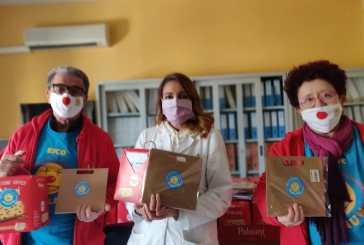 Il dono della Ricoclaun al personale sanitario del San Pio e ai detenuti della casa circondariale