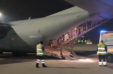 Covid-19, volo salvavita da Vasto a Catanzaro per un 56enne cardiopatico