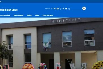 Da oggi il sito del Comune di San Salvo è più snello ed ha una nuova veste grafica
